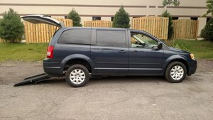 Used Wheelchair Van For Sale: 2008 Chrysler Town & Country LX Wheelchair Accessible Van For Sale with a  on it. VIN: 2A8HR44H38R631920