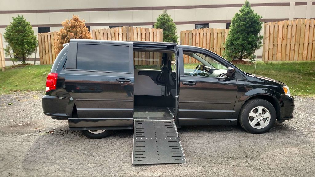 Used Wheelchair Van For Sale 2013 Dodge Grand Caravan Accessible With