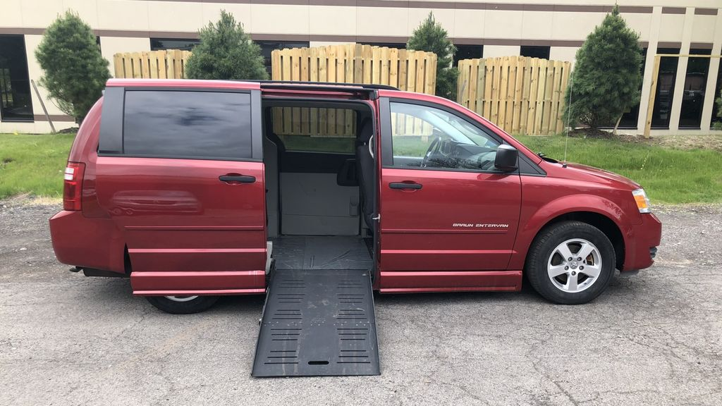 Used Wheelchair Van For Sale 2008 Dodge Grand Caravan Accessible With