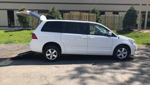 Used Wheelchair Van For Sale: 2011 Volkswagen Routan SE Wheelchair Accessible Van For Sale with a  on it. VIN: 2V4RW3DG2BR622225