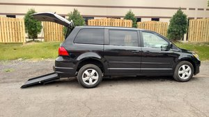 Used Wheelchair Van For Sale: 2011 Volkswagen Routan  Wheelchair Accessible Van For Sale with a  on it. VIN: 2V4RW3DG2BR625674