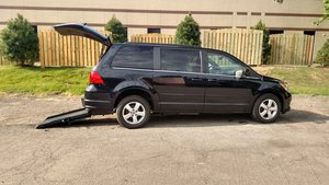 Used Wheelchair Van For Sale: 2011 Volkswagen Routan SE Wheelchair Accessible Van For Sale with a  on it. VIN: 2V4RW3DG5BR669958