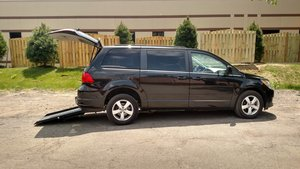 Used Wheelchair Van For Sale: 2011 Volkswagen Routan SE Wheelchair Accessible Van For Sale with a  on it. VIN: 2V4RW3DGXBR716904