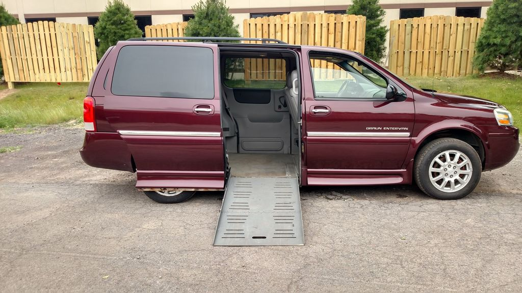 Used Wheelchair Van For Sale 2006 Buick Terraza Accessible With A