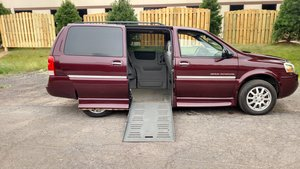 Used Wheelchair Van For Sale: 2006 Buick Terraza CX Wheelchair Accessible Van For Sale with a  on it. VIN: 5GADV23126D194733