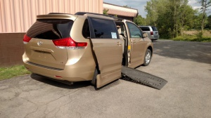 Used Wheelchair Van For Sale: 2012 Toyota Sienna LE Wheelchair Accessible Van For Sale with a  on it. VIN: 5TDKK3DCXCS201656