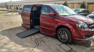New Wheelchair Van For Sale: 2019 Dodge Grand Caravan SE Wheelchair Accessible Van For Sale with a  on it. VIN: AVAILABLE FOR ORD