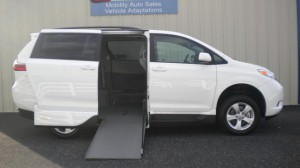 Used Wheelchair Van For Sale: 2015 Toyota Sienna LE Wheelchair Accessible Van For Sale with a VMI - VMI Northstar E Toyota  on it. VIN: 5TDKK3DC8FS571637