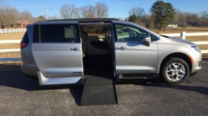 Used Wheelchair Van For Sale: 2017 Chrysler Pacifica Touring Wheelchair Accessible Van For Sale with a VMI - Chrysler Northstar on it. VIN: 2C4RC1BG2HR603256