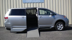 Used Wheelchair Van For Sale: 2015 Toyota Sienna LE Wheelchair Accessible Van For Sale with a VMI - VMI Northstar E Toyota  on it. VIN: 5TDKK3DC5FS650652