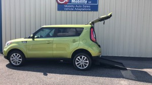 Used Wheelchair Van For Sale: 2017 Kia Soul + Wheelchair Accessible Van For Sale with a Freedom Motors - Kia Soul Wheelchair Accessible on it. VIN: KNDJP35AXH7881157