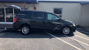 Used Wheelchair Van For Sale: 2016 Dodge Caravan  Wheelchair Accessible Van For Sale with a Freedom Motors - Manual Dodge Rear Entry on it. VIN: 2C4RDGCG8GR387619