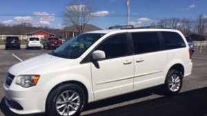 Used Wheelchair Van For Sale: 2014 Dodge Caravan  Wheelchair Accessible Van For Sale with a AMS - Dodge Edge II Rear Entry on it. VIN: 2C4RDGCGXER155777
