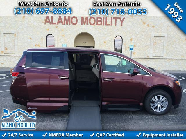 Mobility Van Dealers Tx >> 2016 Honda Odyssey Wheelchair Van For Sale - VMI Honda Northstar | San Antonio, TX | VIN ...