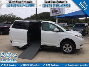 Used Wheelchair Van For Sale: 2015 Toyota Sienna LE Wheelchair Accessible Van For Sale with a VMI Northstar on it. VIN: 5TDKK3DC4FS579878