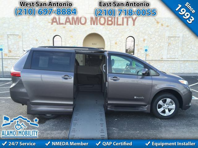 2015 Toyota Sienna Wheelchair Van For Sale BraunAbility