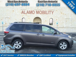 Used Wheelchair Van For Sale: 2015 Toyota Sienna LE Wheelchair Accessible Van For Sale with a AutoAbility Rear Entry on it. VIN: 5TDKK3DC7FS581592