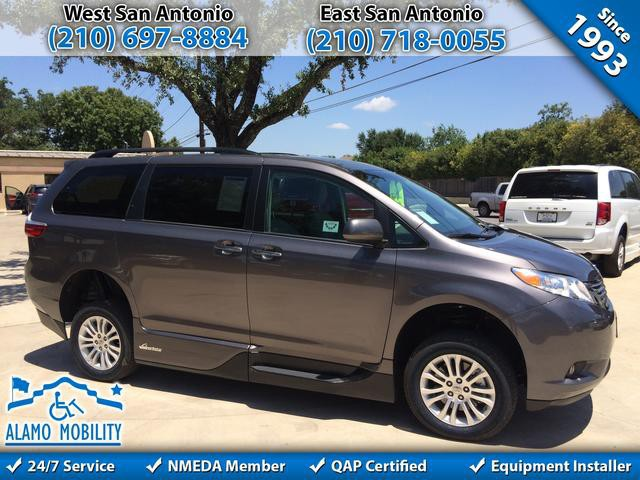 2016 Toyota Sienna Wheelchair Van For Sale VMI Northstar