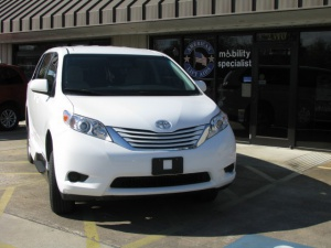 Used Wheelchair Van For Sale: 2015 Toyota Sienna LE Wheelchair Accessible Van For Sale with a VMI VMI Northstar E Toyota  on it. VIN: 5TDKK3DC6FS607843