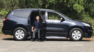 New Wheelchair Van For Sale: 2017 Chevrolet Traverse LS  Wheelchair Accessible Van For Sale with a ATC Wheelchair Truck Conversions - Chevy, GMC & Cadalliac Suv's on it. VIN: 1GNKRFED8HJ247633