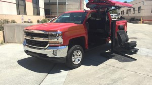 Used Wheelchair Van For Sale: 2018 Chevrolet Silverado LT Wheelchair Accessible Van For Sale with a ATC Wheelchair Truck Conversions - 1500 Chevy & GMC Trucks on it. VIN: 3GCUKRECXJG598694