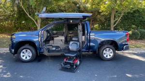 New Wheelchair Van For Sale: 2019 Chevrolet Silverado LT Wheelchair Accessible Van For Sale with a ATC Wheelchair Truck Conversions - 1500 Chevy & GMC Trucks on it. VIN: 1GCUYDEDXKZ394439