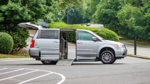 Used Wheelchair Van For Sale: 2014 Chrysler Town & Country Touring Wheelchair Accessible Van For Sale with a BraunAbility - Chrysler Entervan XT on it. VIN: 2C7WC1CG1ER221686