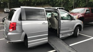 Used Wheelchair Van For Sale: 2014 Dodge Caravan  Wheelchair Accessible Van For Sale with a BraunAbility - Dodge Entervan II on it. VIN: 2C4RDGCG8ER296637