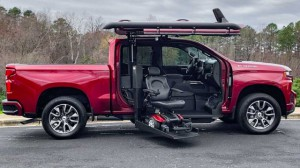 New Wheelchair Van For Sale: 2020 Chevrolet Silverado Crew Wheelchair Accessible Van For Sale with a ATC Wheelchair Truck Conversions - 1500 Chevy & GMC Trucks on it. VIN: 3GCPWDED3LG109388