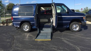 Used Wheelchair Van For Sale: 2008 Ford E-150 XL Wheelchair Accessible Van For Sale with a VMI - Full Size Wheelchair Vans on it. VIN: 1fdne14l08da92163