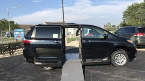 Used Wheelchair Van For Sale: 2015 Toyota Sienna XLE Wheelchair Accessible Van For Sale with a VMI - Toyota NorthstarAccess360 on it. VIN: 5tdyk3dc7fs630414