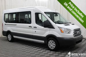 Used Wheelchair Van For Sale: 2017 Ford Transit LT Wheelchair Accessible Van For Sale with a AMS Vans Ford Rear/Side on it. VIN: 1FBAX2CM4HKB13819