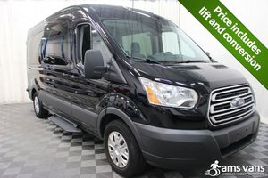 Used Wheelchair Van For Sale: 2017 Ford Transit LT Wheelchair Accessible Van For Sale with a AMS Vans Ford Rear/Side on it. VIN: 1FBAX2CM7HKB13832