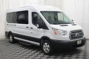 Used Wheelchair Van For Sale: 2019 Ford Transit LT Wheelchair Accessible Van For Sale with a AMS Vans Ford Rear/Side on it. VIN: 1FBAX2CM9KKA34606