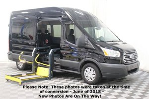 Used Wheelchair Van For Sale: 2017 Ford Transit LT Wheelchair Accessible Van For Sale with a AMS Vans Ford Transit Side Lift on it. VIN: 1FBAX2XG1HKA55592