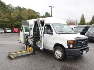 Used Wheelchair Van For Sale: 2014 Ford E-series Cargo ES Wheelchair Accessible Van For Sale with a Braun Braun Lift on it. VIN: 1FTNS2EW2EDA14314