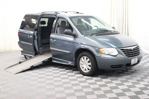 Used Wheelchair Van For Sale: 2006 Chrysler Town & Country Touring Wheelchair Accessible Van For Sale with a AMS Vans Legend on it. VIN: 2A4GP54LX6R760067