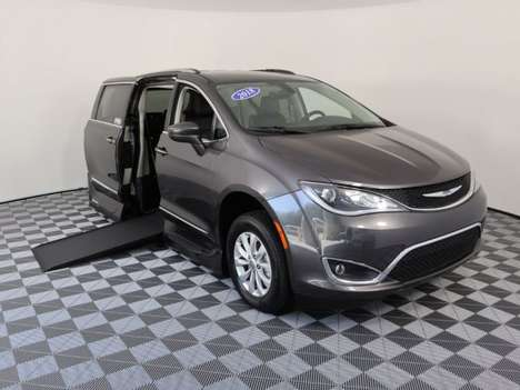Used Wheelchair Van For Sale: 2018 Chrysler Pacifica L Wheelchair Accessible Van For Sale with a VMI Northstar on it. VIN: 2C4RC1BG3JR118954