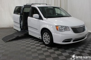 New Wheelchair Van For Sale: 2016 Chrysler Town & Country Touring Wheelchair Accessible Van For Sale with a AMS Legend on it. VIN: 2C4RC1BG4GR301868