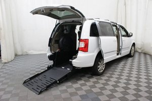 Used Wheelchair Van For Sale: 2016 Chrysler Town & Country Touring Wheelchair Accessible Van For Sale with a AMS Vans Rear 102 on it. VIN: 2C4RC1BG5GR158025
