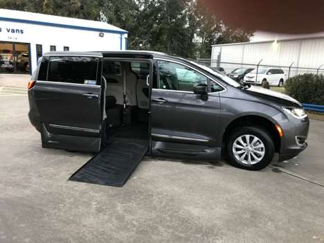 Used Wheelchair Van For Sale: 2018 Chrysler Pacifica L Wheelchair Accessible Van For Sale with a VMI Northstar on it. VIN: 2C4RC1BG8JR120814