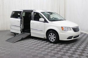 Used Wheelchair Van For Sale: 2012 Chrysler Town & Country Touring Wheelchair Accessible Van For Sale with a AMS Legend on it. VIN: 2C4RC1BGXCR389951