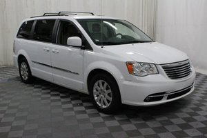 Used Wheelchair Van For Sale: 2016 Chrysler Town & Country Touring Wheelchair Accessible Van For Sale with a AMS Vans Edge II on it. VIN: 2C4RC1BGXGR282260