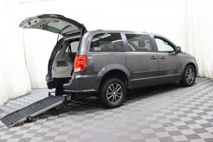 Used Wheelchair Van For Sale: 2017 Dodge Grand Caravan SXT Wheelchair Accessible Van For Sale with a AMS Edge on it. VIN: 2C4RDGCG0HR604291