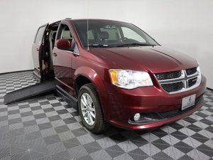 Used Wheelchair Van For Sale: 2018 Dodge Grand Caravan S Wheelchair Accessible Van For Sale with a AMS Vans Legend II D on it. VIN: 2C4RDGCG0JR206195