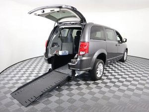 Used Wheelchair Van For Sale: 2018 Dodge Grand Caravan S Wheelchair Accessible Van For Sale with a AMS Vans Edge II on it. VIN: 2C4RDGCG0JR328488
