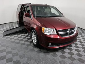 Used Wheelchair Van For Sale: 2019 Dodge Grand Caravan S Wheelchair Accessible Van For Sale with a AMS Vans Epic on it. VIN: 2C4RDGCG0KR556959