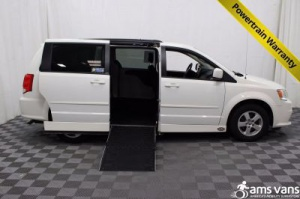 Used Wheelchair Van For Sale: 2012 Dodge Grand Caravan SXT Wheelchair Accessible Van For Sale with a AMS Legend on it. VIN: 2C4RDGCG2CR121927