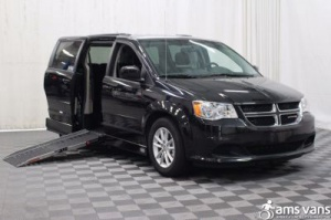 New Wheelchair Van For Sale: 2016 Dodge Grand Caravan SXT Wheelchair Accessible Van For Sale with a AMS Legend on it. VIN: 2C4RDGCG2GR161379