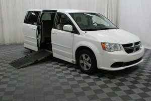 Used Wheelchair Van For Sale: 2012 Dodge Grand Caravan SXT Wheelchair Accessible Van For Sale with a AMS Legend on it. VIN: 2C4RDGCG3CR141085